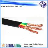 Multi-Cores XLPE изоляцией ПВХ пламенно среднего напряжения кабеля питания