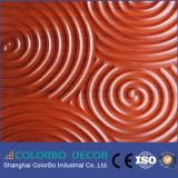 Painéis de parede 3D decorativos, painel de parede de madeira moderno dos estilos 3D