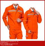 Trabalho OEM uniforme para Engenheiro & Vestuário de trabalho para homens, vestuário de Laranja Mens (W425)