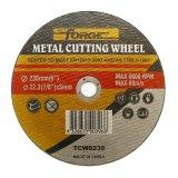 tipo plano rueda de 230*3*22.2m m del corte del disco del atajo para el metal