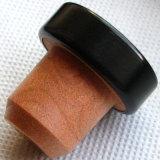 합성 포도주 코르크를 가진 Eco-Friendly 알루미늄 최고 모자