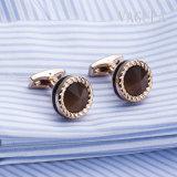 Geplateerde de Juwelen VAGULA namen Gouden Manchetknopen 52506 van Catseye Gemelos toe