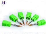 0,6*1,2*4*50 Fabrication de haute performance micro en carbure monobloc 2 flûtes fin Mills avec de nombreux en stock
