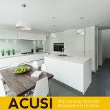 Australien-Art kundenspezifische weiße Lack-Küche-Schränke (ACS2-L170)