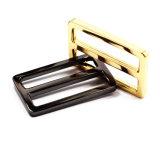 A curvatura quente do slider da barra do centro da liga do zinco do metal da venda para o saco parte os acessórios dos bens do couro de sapatas da curvatura de correia (YK956A)