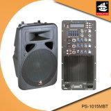 15 Spreker pS-1015mbt van de PA van de Echo van Bluetooth EQ van de FM van de duim 250W USB BR de Plastic Actieve