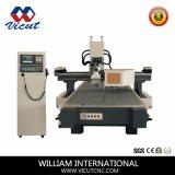 Ranurador auto de la carpintería del CNC del cambiador de la herramienta (alta configuración Vct-1325atc8)