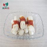 Цыпленок Wrap маленький белый Rawhide узел для ПЭТ