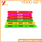 Drucken-Silikon-Armband-Silikon-PapaWristband der Orangen-330*30*2mm Cmyk (YB-WT-5)