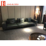 Möbelgeschäft-Schnittcouch-Leder-Sofa