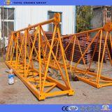 Qtz Boom250-7030 70m 16tonne grue à tour de type fixe