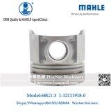 Mahle Pistão motor Isuzu 6bg anel1-3Pistão (OEM: 1-12111-918-0)