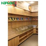 Einzelhandelsgeschäft-Metalleinseitige Gemüsefrucht-Gondel-Zahnstange