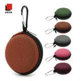 Портативная круглая сумка для наушника при подгонянный цвет