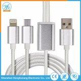 3 in 1 cavo di carico di dati del USB per il telefono mobile