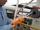 Detetor portátil do escapamento do gás para o flúor (F2 0-10ppm)