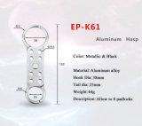 O dobro de Elecpopular Scissor o Hasp de alumínio do fechamento da Dobro-Extremidade da ação (EP-K61)