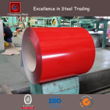 Tôle d'acier galvanisée enduite par couleur de PPGI dans la bobine (CZ-C90)