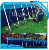Pools van het Frame van het Metaal van de Grond van het Zwembad van het Frame van het metaal de Openlucht Bovengenoemde voor de Zomer