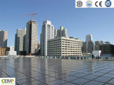 BIPV (Prédio do sistema PV integrado) Reconhecimento de 315W Policristalino Painel Solar
