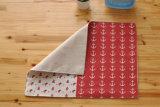 内陸の食糧マットの綿および麻布の台所タオル