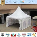 5x5m decorado Carpa Pagoda de PVC para la boda al aire libre eventos