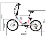 Импорт 250W 20 дюйма легкий мини-электрический велосипед из Китая