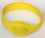 значок удостоверения личности Wristbands силикона контроля допуска RFID гимнастики 13.56MHz классицистический 1K (S-WB4C)