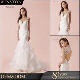 Heißes nagelneues Hochzeits-Kleid Womanufacturer des Verkaufs-100%