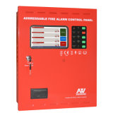 '' panneau accessible de détection de signal d'incendie d'affichage à cristaux liquides d'écran tactile 7
