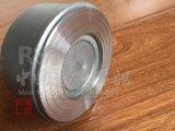 Clapet anti-retour de disque de ressort d'acier inoxydable non de disque simple de renvoi