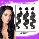 Capelli del Virgin del brasiliano del commercio all'ingrosso 100%, capelli grezzi 100% del brasiliano del Virgin di estensione dei capelli
