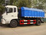 Sinotruk HOWO Dongfeng 4X2 6cbm 8 CBM 10cbmのホックの揚げべらのごみ収集車