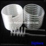 Tubo di vetro fuso Spiring bianco latteo di vendita calda