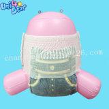 도매 처분할 수 있는 비 길쌈한 직물 3D 누출 예방 훈련 아기는 기저귀를 헐덕거린다