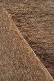 Tessuto di Chenille della tappezzeria con colore del caffè
