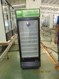 dispositivo di raffreddamento dritto del singolo portello di vetro 220L con il baldacchino