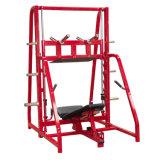 Equipamento de carga de placa ginásio comercial perna vertical pressione