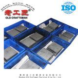 Placa de carboneto cementado de tungsténio para ferramenta de corte