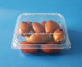 170gプラスチック日付のクラムシェルのプラスチックフルーツの包装ボックス