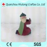 Décoration réglée de figurines de Manger de dessin animé de résine de nativité de métiers de Noël de résine