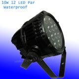10W 12 het LEIDENE RGBW Licht van het PARI