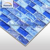 Японский Открытый Океан море мозаика Blue Wave стеклянной плиткой бассейн