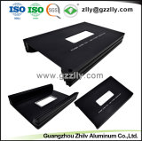 Hight Quality Die Casting Black Aluminum Extrusion with ISO9001