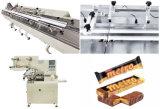 L'alimentation automatique et de la ligne d'emballage pour la production de barres de céréales au chocolat