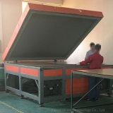 屋根の台紙は150ワットの太陽暖房のパネルを写し出す