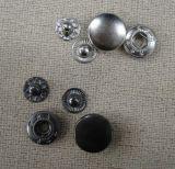 Botón del broche de presión del metal de la alta calidad del precio al por mayor de la fábrica