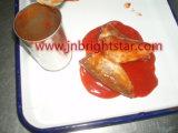 In Büchsen konservierte Sardine normalen der Kappe in der Tomatensauce-425g geöffnet