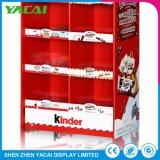 Suporte de chão de papel lojas especializadas em rack de Exibição de Publicidade