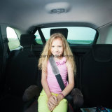Tampa morna da cinta do cinto de segurança do carro da pele de carneiro do inverno